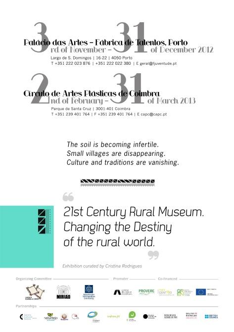Flyer '21st Century Rural Museum'
